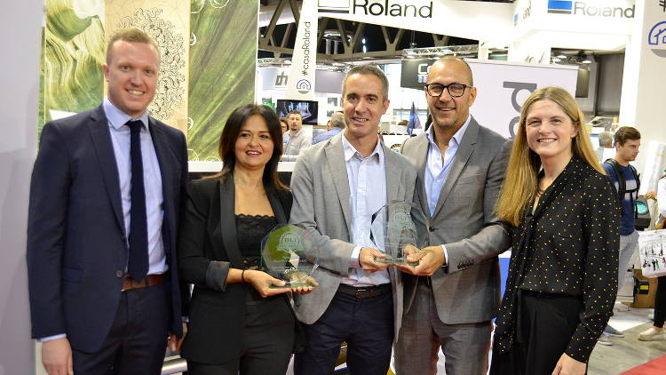 Roland DG's TrueVIS printer/cutters awarded top honours from Buyers Lab.