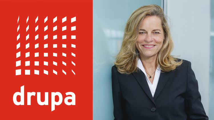 Interview with Sabine Geldermann - drupa postponed to April 2021.