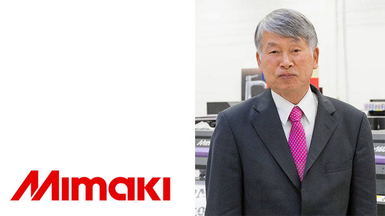 Sakae Sagane, Chairman of Mimaki Europe, has retired.