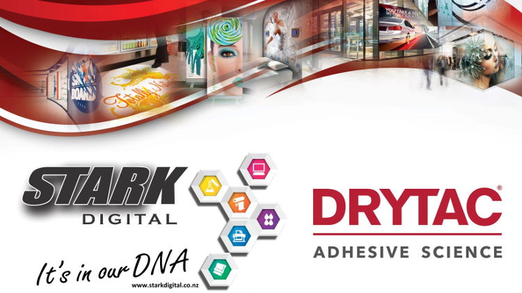 Stark Digital has been appointed as a new Drytac dealer in New Zealand, offering a wide range of self-adhesive materials for large format print and signage.