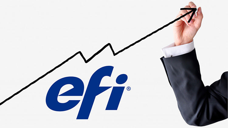 EFI Reports Record Second Quarter Revenue For Q2 2018 Industrial Inkjet up 10%; Productivity Software Grows by 7%.