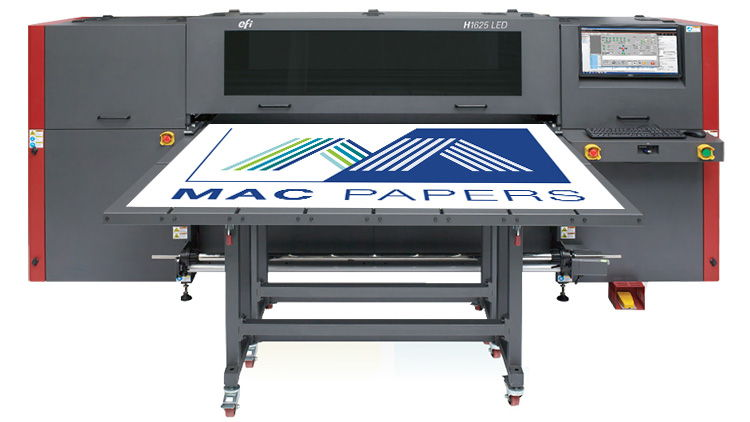 Agreement with global technology leader further enhances Mac Papers' wide format offering.