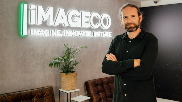 Wide format printers, Imageco are going solar.