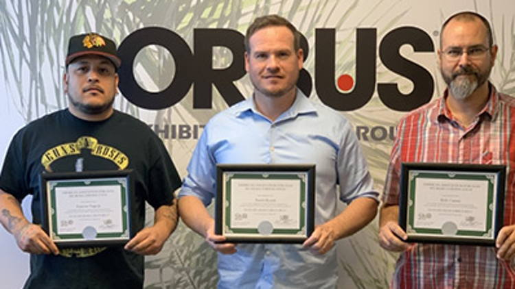 Orbus Las Vegas expands to 93,000 sq ft of operating space & achieves Lean Six Sigma Green Belt status.