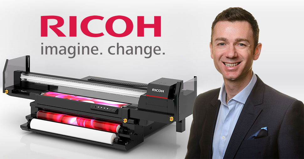 Ricoh UK's roadmap for wide-format and digital – an interview with Simon Isaacs.