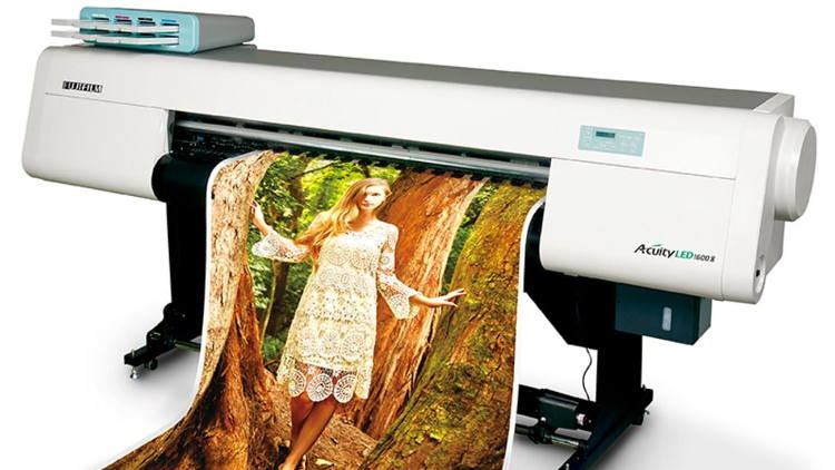 Discover the possibilities of digitally printed decor with Fujifilm.