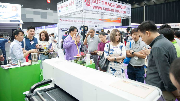 Asia Print Expo 2019, which took place from 21 to 23 February in Bangkok, Thailand, has been hailed a success by both visitors and exhibitors.