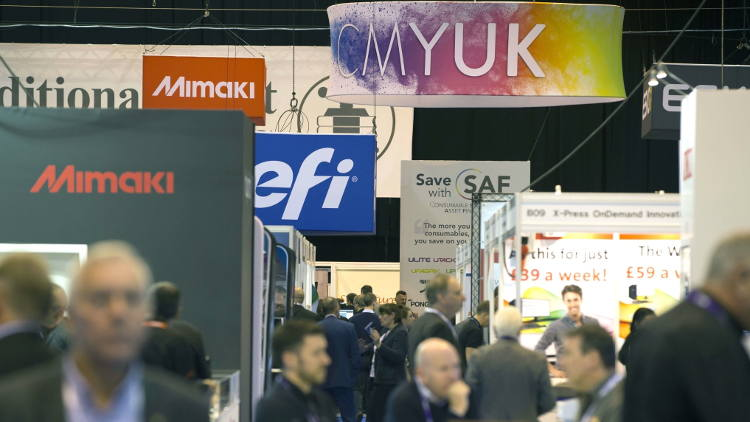 CMYUK can be found at Stand A10 at this year's The Print Show.