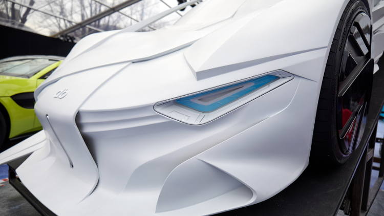 Massivit 3D Printed 1:1 Concept Car Signals the Future of Concept Prototyping.