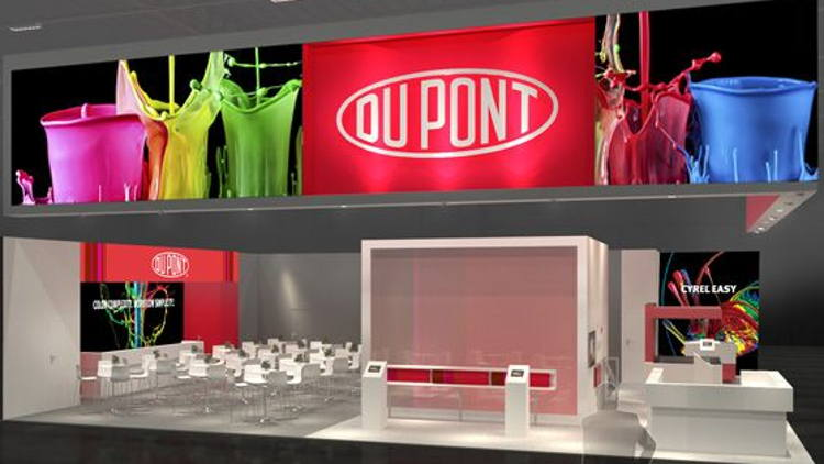 DuPont Electronics & Imaging Showcase Innovations at SignExpo 2019.