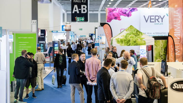 Explore the possibilities in non-printed signage at European Sign Expo 2019.