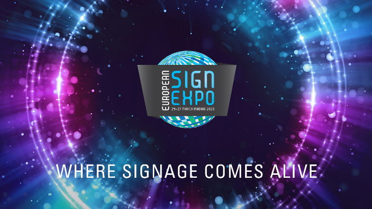 See non-printed signage come to life at European Sign Expo 2020.
