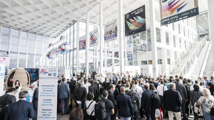 Largest ever audience for four-day FESPA event, with over 20000 individual visitors.