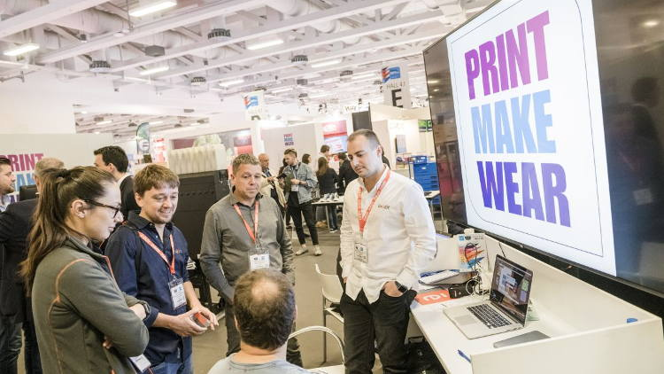 Visitor response to Print Make Wear launch at FESPA Global Print Expo 2018 reflects growing focus on garment printing in FESPA community.