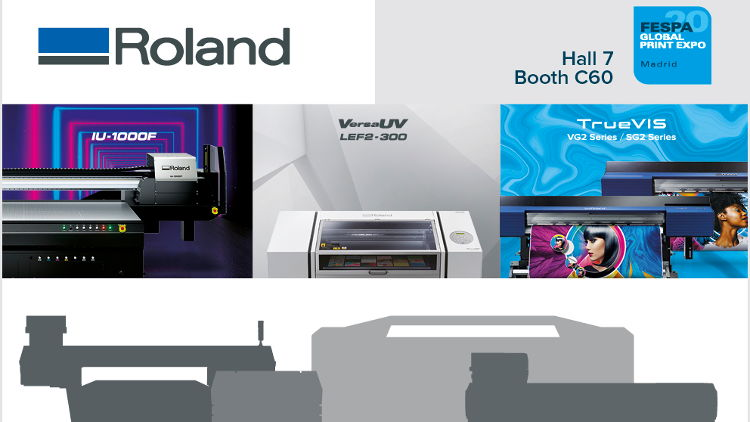 Roland DG to reveal new digital opportunities at FESPA 2020.