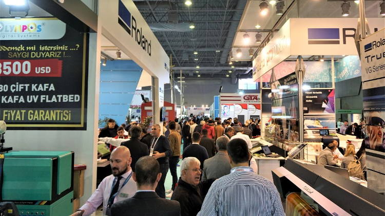 FESPA Eurasia 2018, the region's leading event for screen, textile and digital wide format, returns to Istanbul, Turkey from 6 to 9 December 2018.