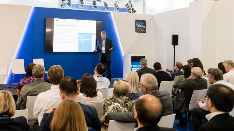 FESPA announces programme for its Trend Theatre at FESPA Global Print Expo 2019.