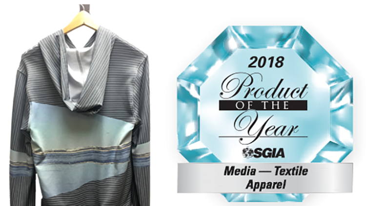 Fisher Textiles Wins Three Product of the Year Awards from SGIA.
