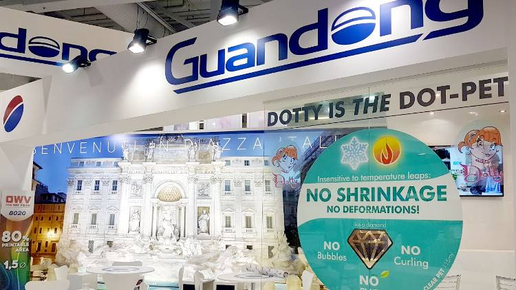 Once again Guandong succeeds in impressing visitors at Fespa.