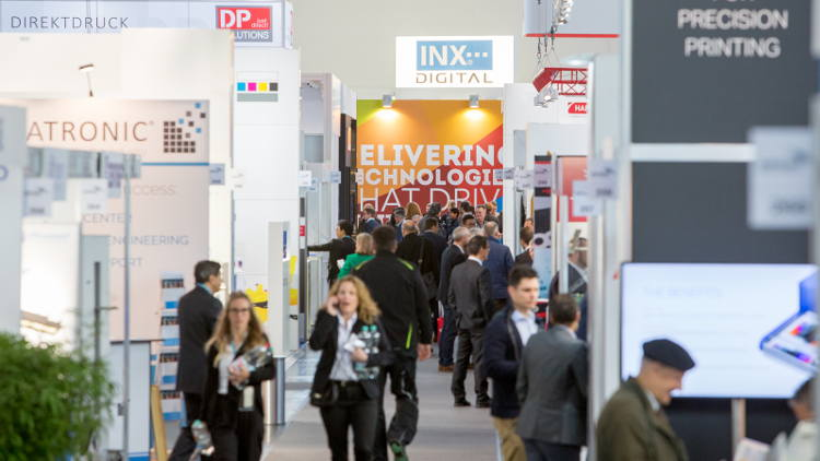 International Exhibition of Print Technology for Industrial Manufacturing opens tomorrow in Munich.