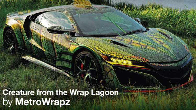 MetroWrapz wins 'King of the Wrap World' crown for second year, in the Avery Dennison 2019 'Wrap Like a King' challenge.