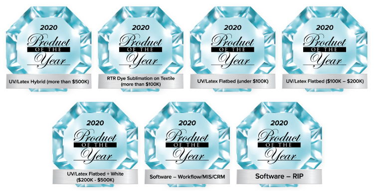 Durst Group wins 7 Product of the Year Awards.