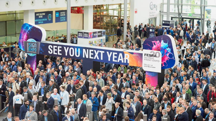 FESPA Global Print Expo 2020: Where Colour Comes Alive.