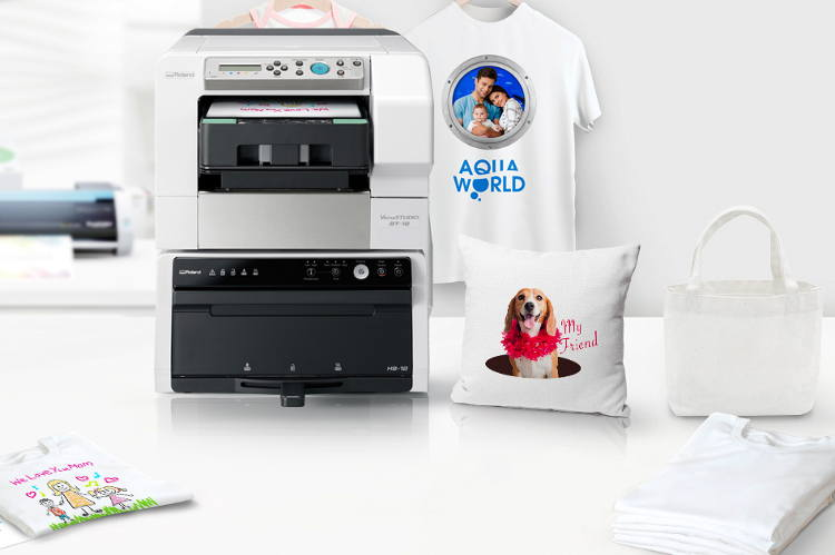 Roland VersaSTUDIO BT 12 DTG Printer