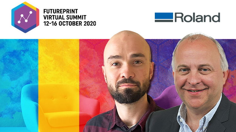 Roland to present next generation interior décor and textile solutions at Futureprint Virtual Summit.