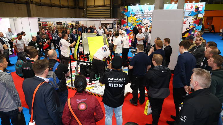 Launches and live demos brought innovation to life at Sign & Digital UK 2019.