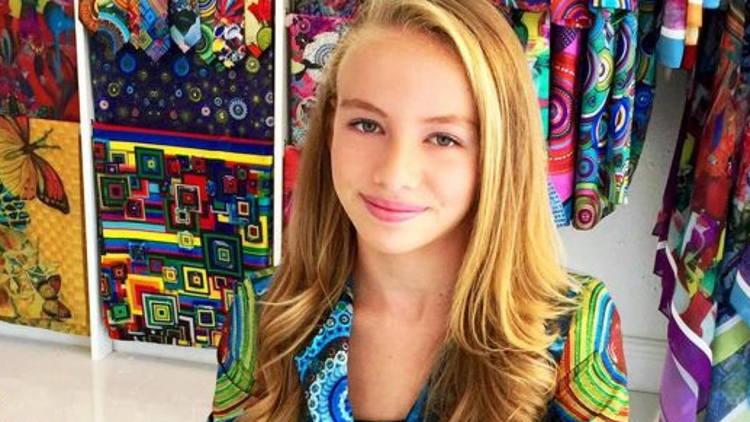 Teen fashion designer headlines breakfast at PRINTING United.