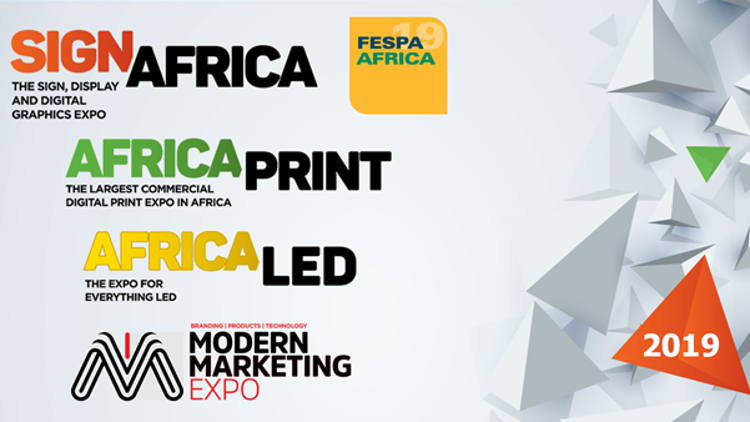 Sign Africa and Africa Print expo organisers Practical Publishing have announced their event line up for 2019, with events to be hosted in Nelspruit, Port Elizabeth, Cape Town, Zimbabwe and Johannesburg.