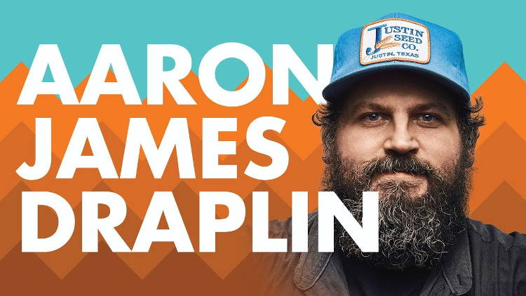 "Draplin has spoken at over 360 events across the world and, with his company, produced a book titled ""Pretty Much Everything.""."