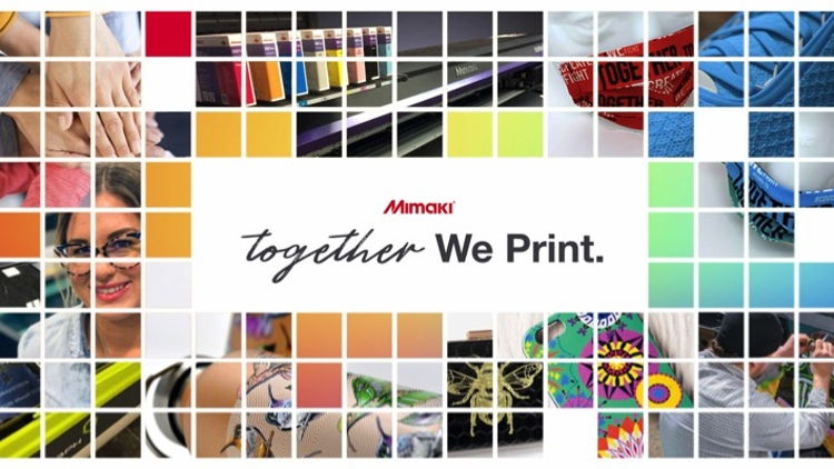Mimaki's Together We Print supports print community.