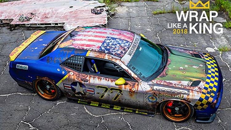 "Metrowrapz Wins 2018 ""King of the Wrap World"" Crown in Avery Dennison ""Wrap Like a King™"" Challenge."