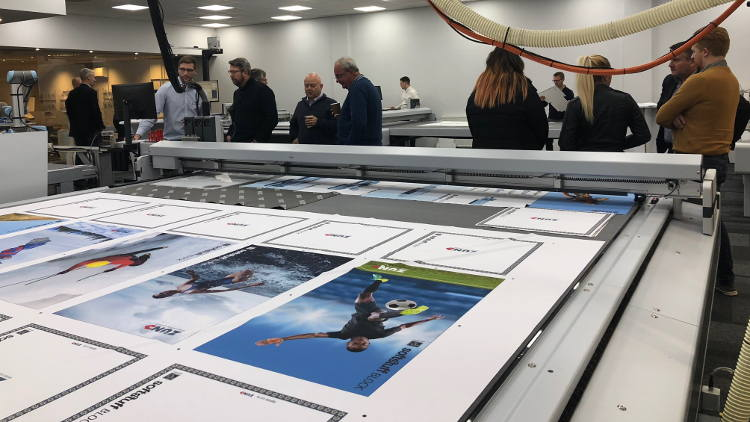 Companies from a wide variety of sectors - including graphics, packaging, textiles and aerospace - recently attended the Open House.