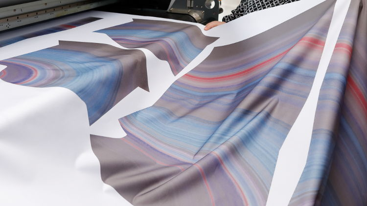 Touchpoint textile - drupa stages first special show dedicated to digital textile printing.