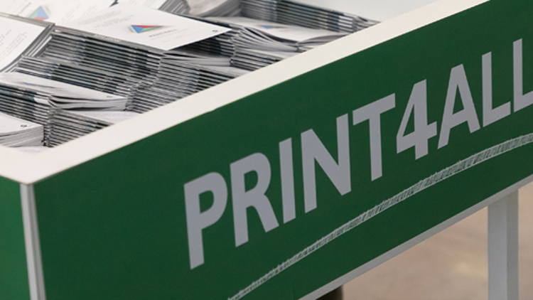 Great success for Print4All: its debut edition launches it into the Olympus of international exhibitions.