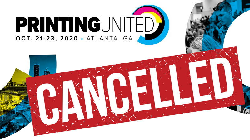 PRINTING United 2020 cancelled - online experience instead.