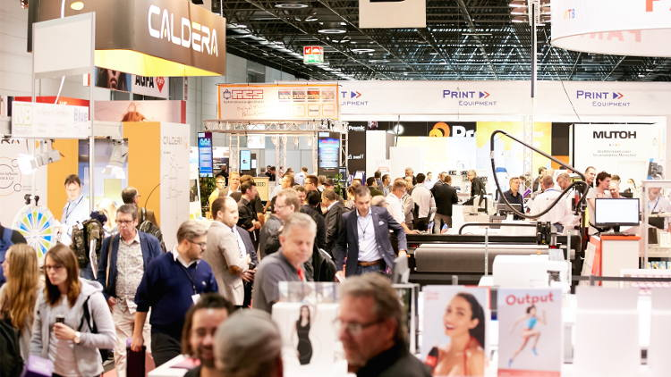 viscom 2019 More live experiences for digital printers and signmakers.