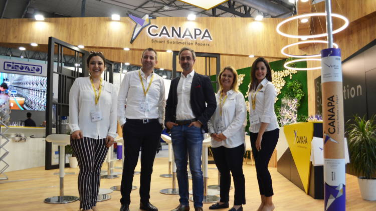 Canapa Paper Technologies was in the spotlight for the textile manufacturers at ITMA 2019 with smart sublimation papers.