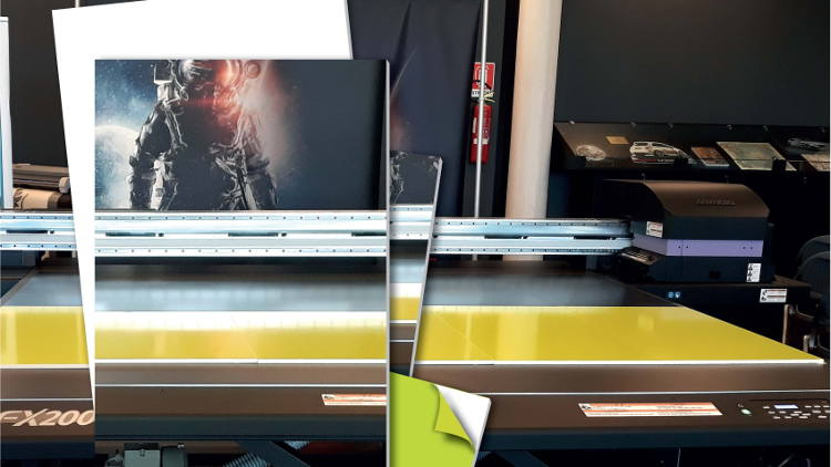 Perspex Distribution introduces Palight Print Plus, their whitest ever PVC Foam sheet.