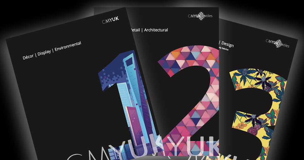 CMYUK has launched a samples almanac that showcases the widest range of sign and display materials, textiles and digital-ready fabrics.