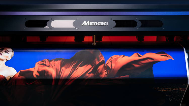 New Clear Ink enhances versatility for Mimaki's award-winning UCJV300 Series.