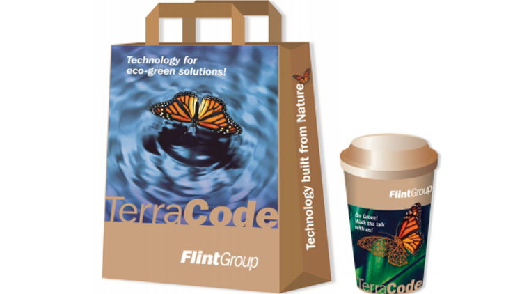 Flint Group launches TerraCode: A sustainable ink and coating range for the global Paper & Board market.