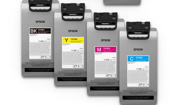Epson announces GOTS approval for its UltraChrome DG inks.