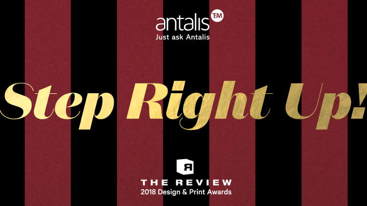The Review awards, now in its 27th year, recognises those who have created exceptional print work using Antalis media.