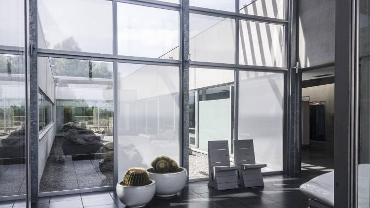 World's first self-adhesive transparent window fabric added to Architextural's portfolio.