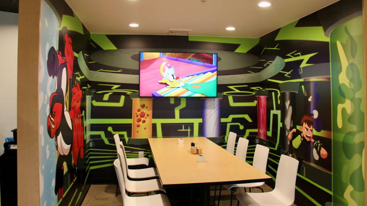 Cartoon Network Hotel Comes To Life With Drytac Media