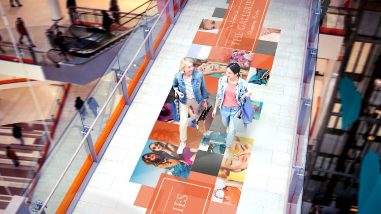 Drytac has released Polar SandTac Floor in the USA, a new economical print-and-go floor graphics product that provides slip resistance without lamination. This makes installation safe, quick and simple.